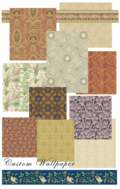 interior wallpaper samples. wallpaper samples. videos